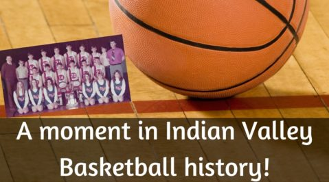 A moment in Indian Valley Basketball history!