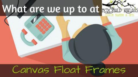 Canvas Float Frames